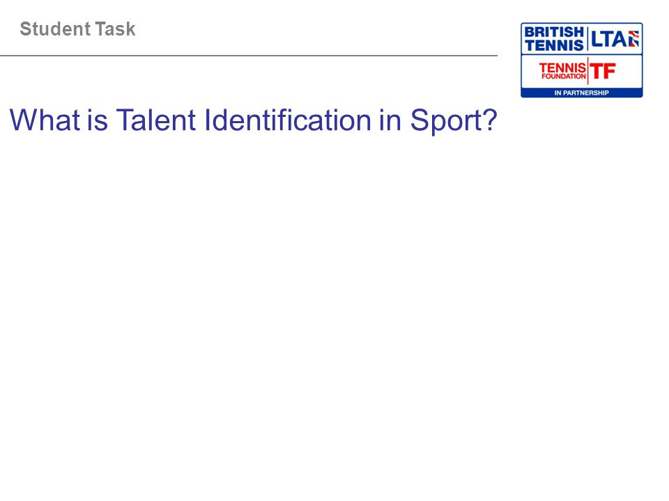 What is Talent Identification in Sport