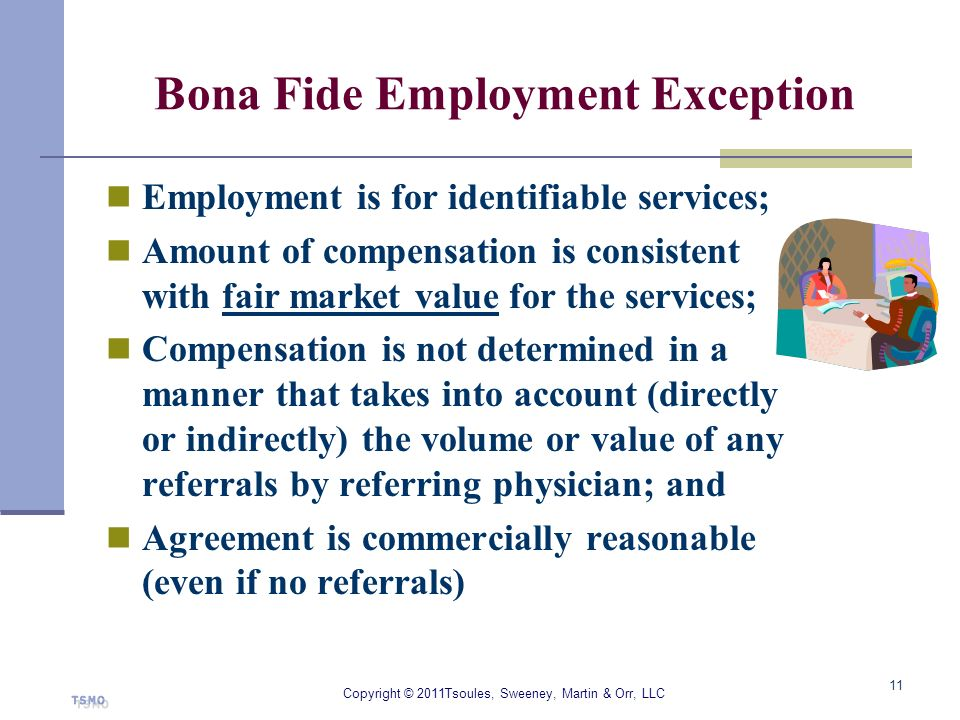 Bona Fide Employment Exception