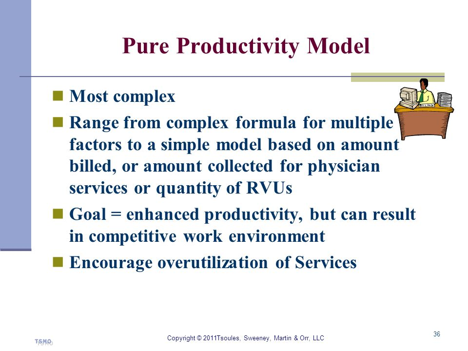 Pure Productivity Model