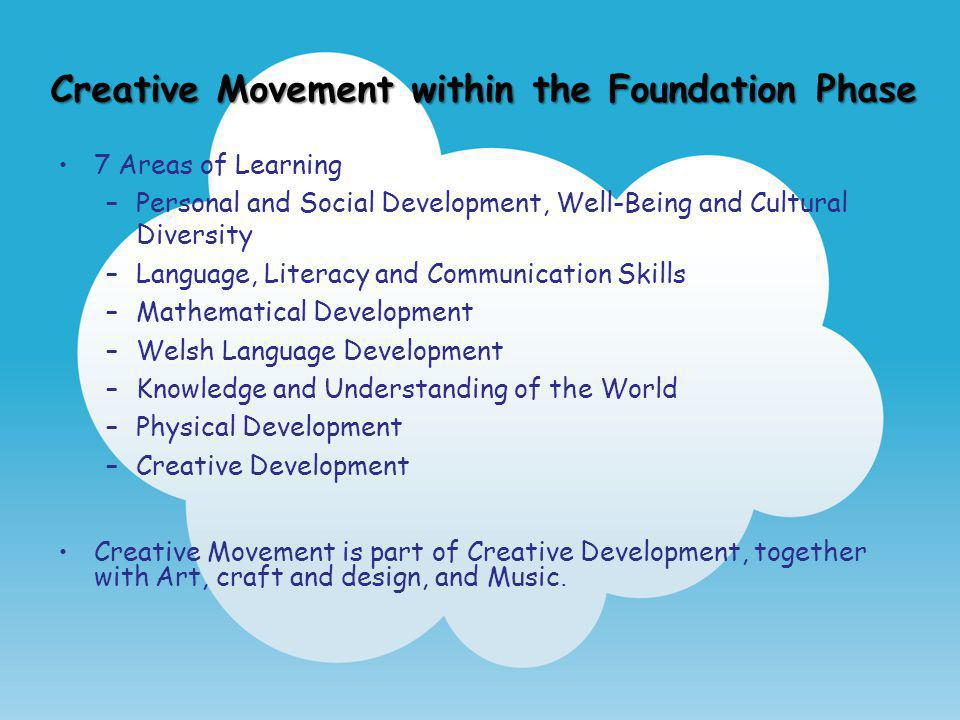 Creative Movement within the Foundation Phase