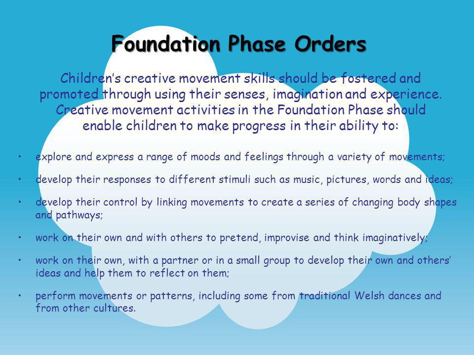 Foundation Phase Orders