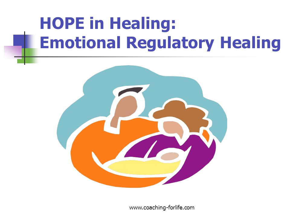 HOPE in Healing: Emotional Regulatory Healing