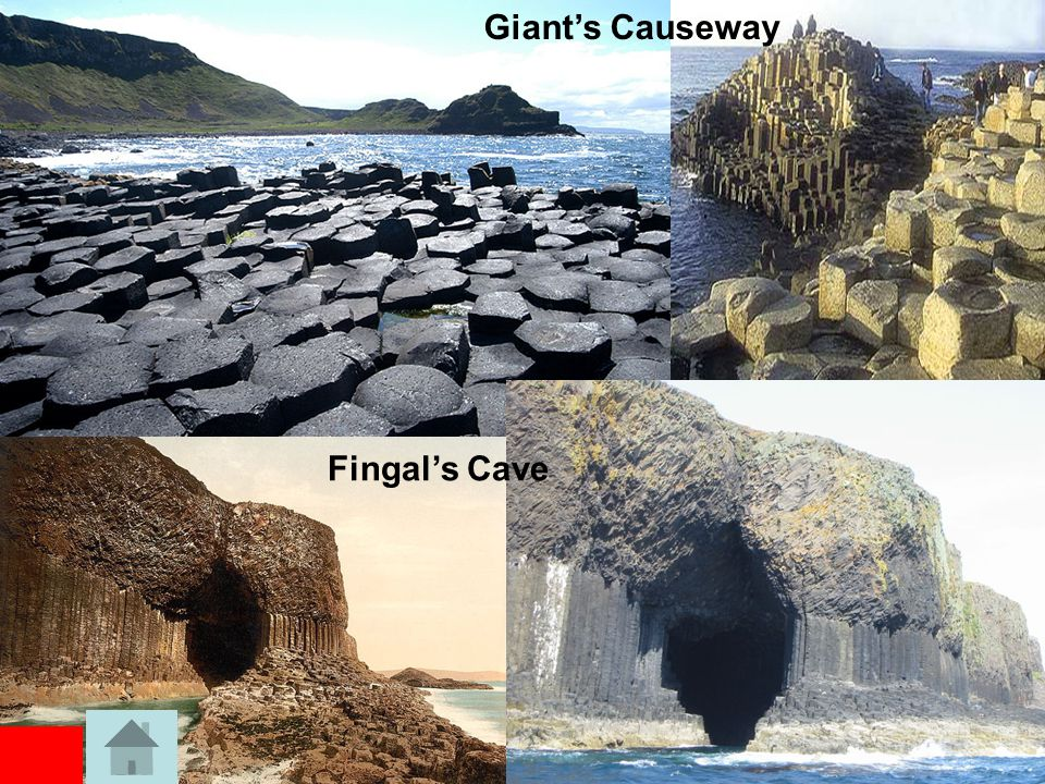 Giant's Causeway Fingal's Cave