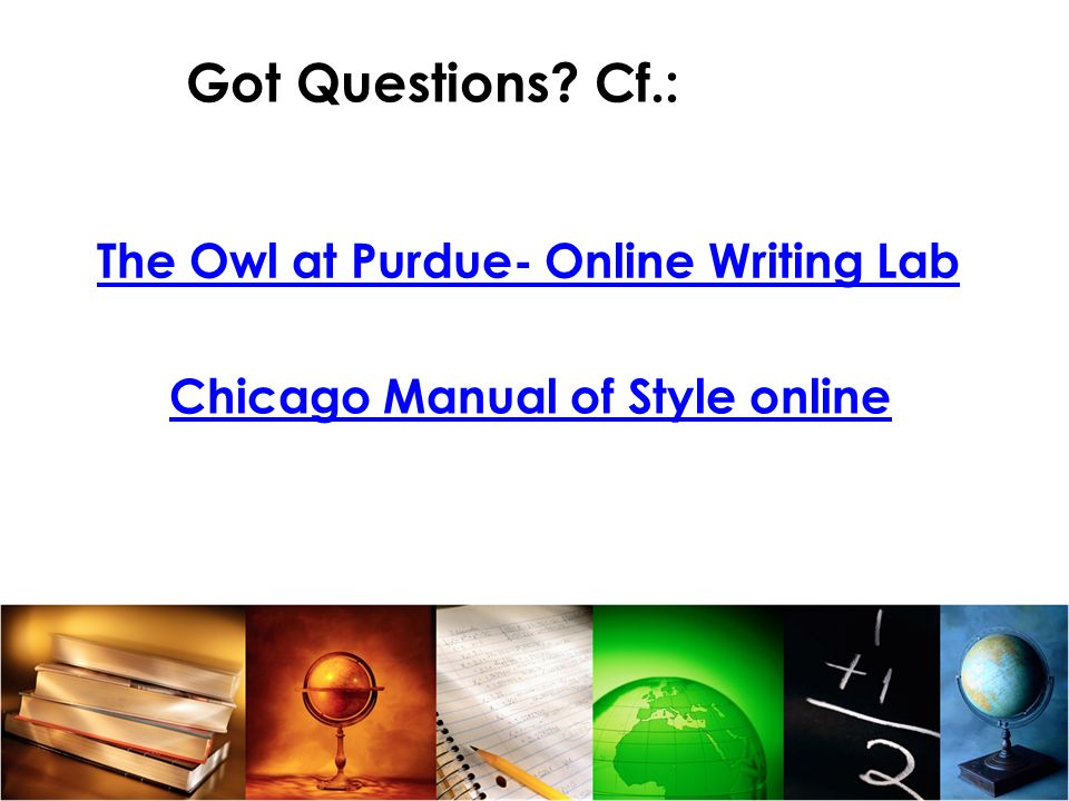 The Owl at Purdue- Online Writing Lab