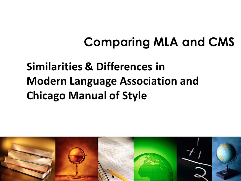 Similarities & Differences in Modern Language Association and