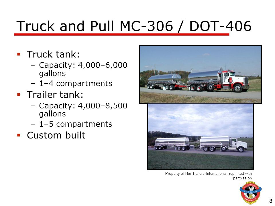 Truck and Pull MC-306 / DOT-406