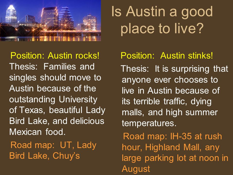 Is Austin a good place to live
