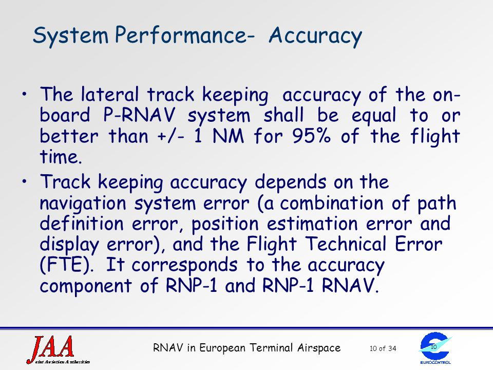 System Performance- Accuracy