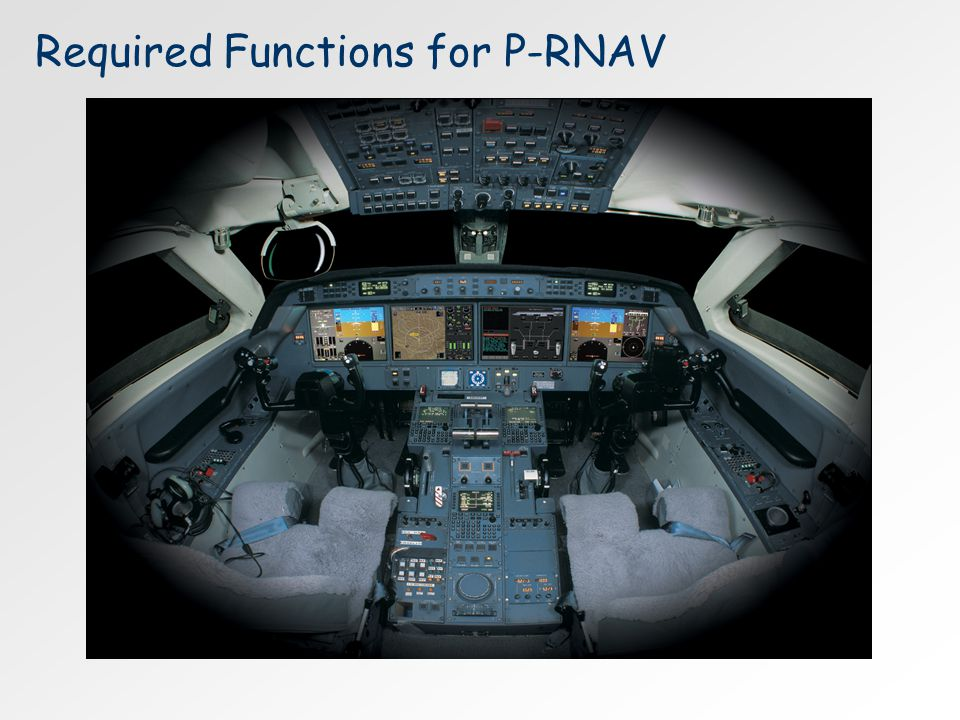 Required Functions for P-RNAV