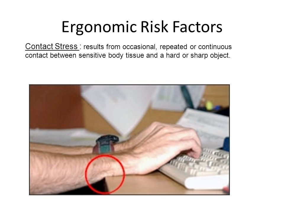 Ergonomic Risk Factors