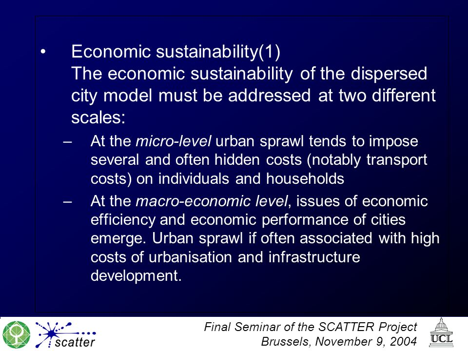 Economic sustainability(1)
