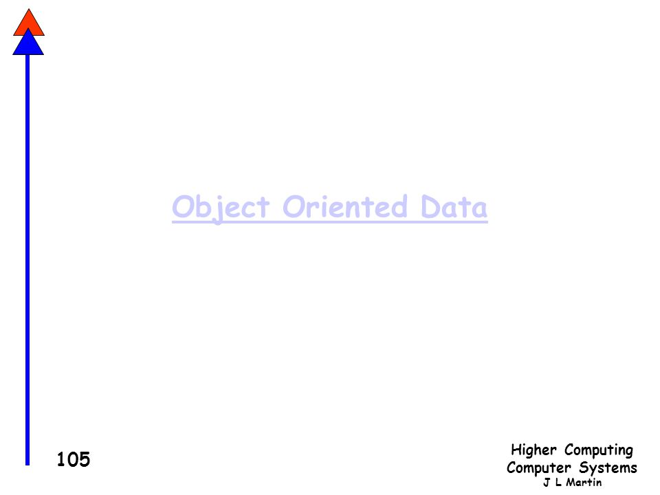 Object Oriented Data