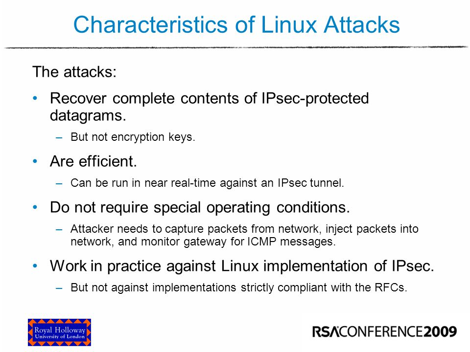 Attacking Linux ESP – Reactions