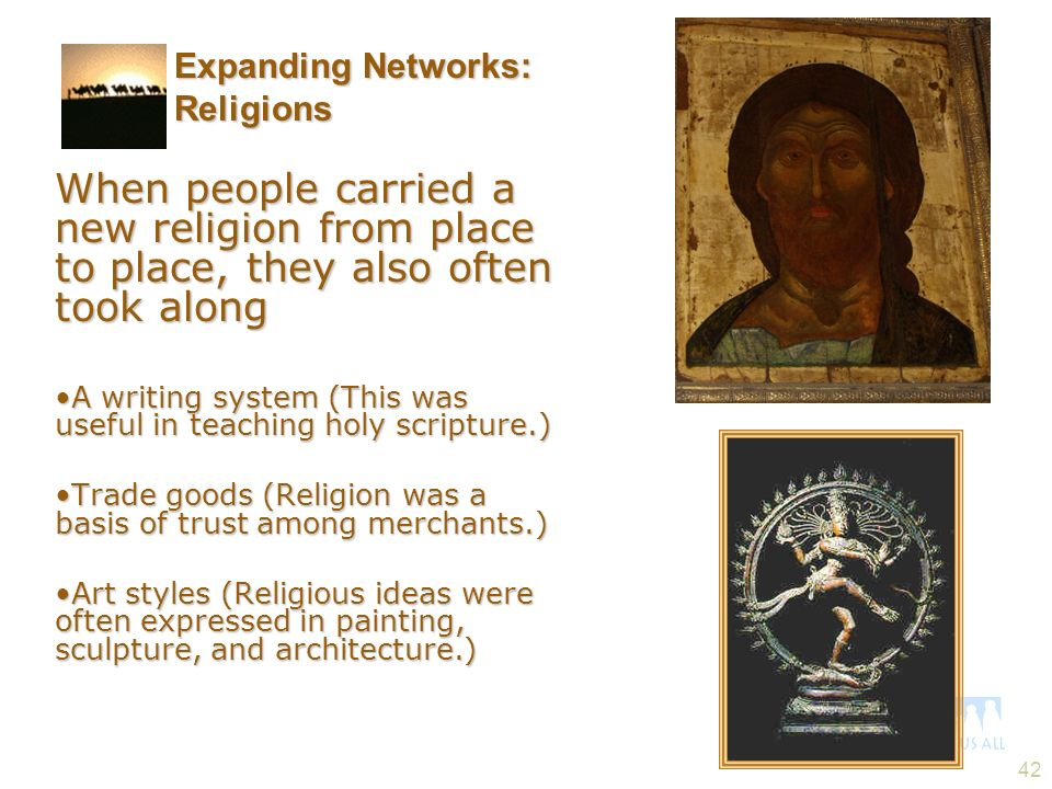 Expanding Networks: Religions
