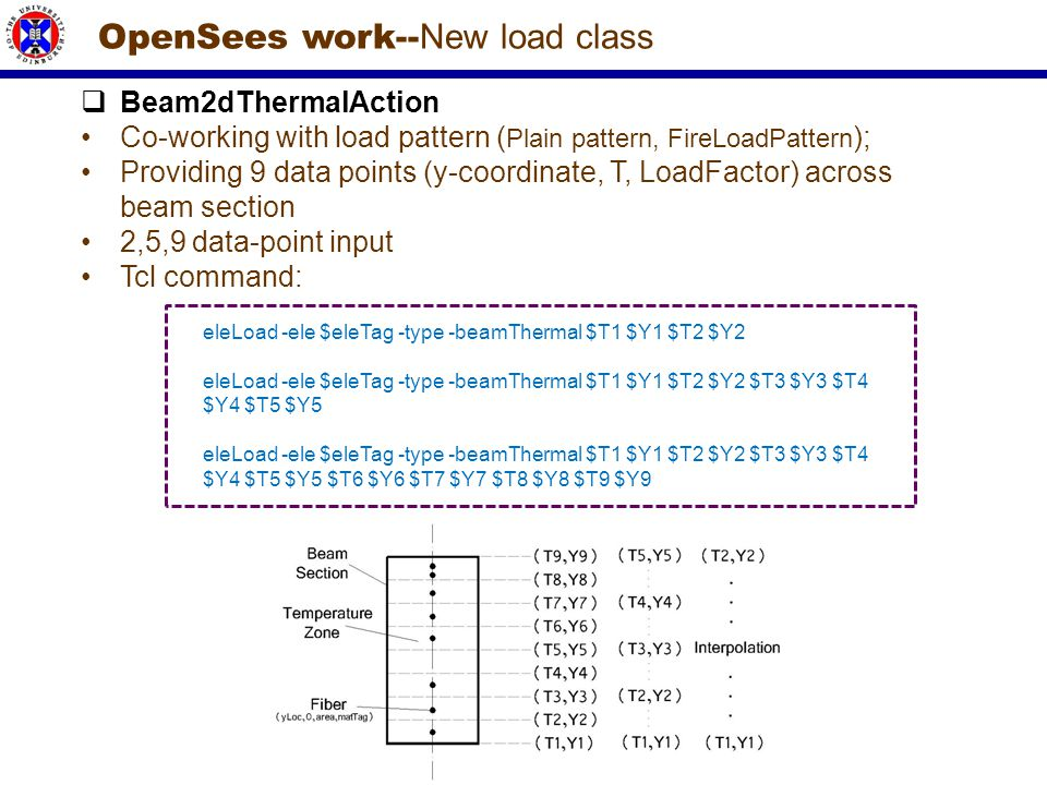 OpenSees work--New load class