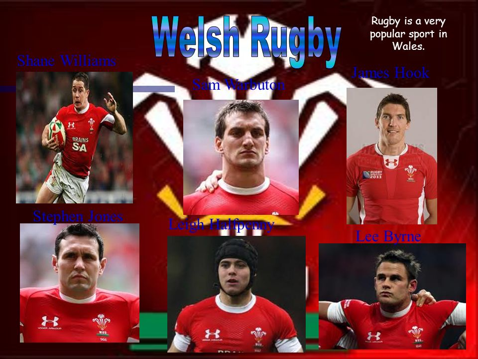 Rugby is a very popular sport in Wales.