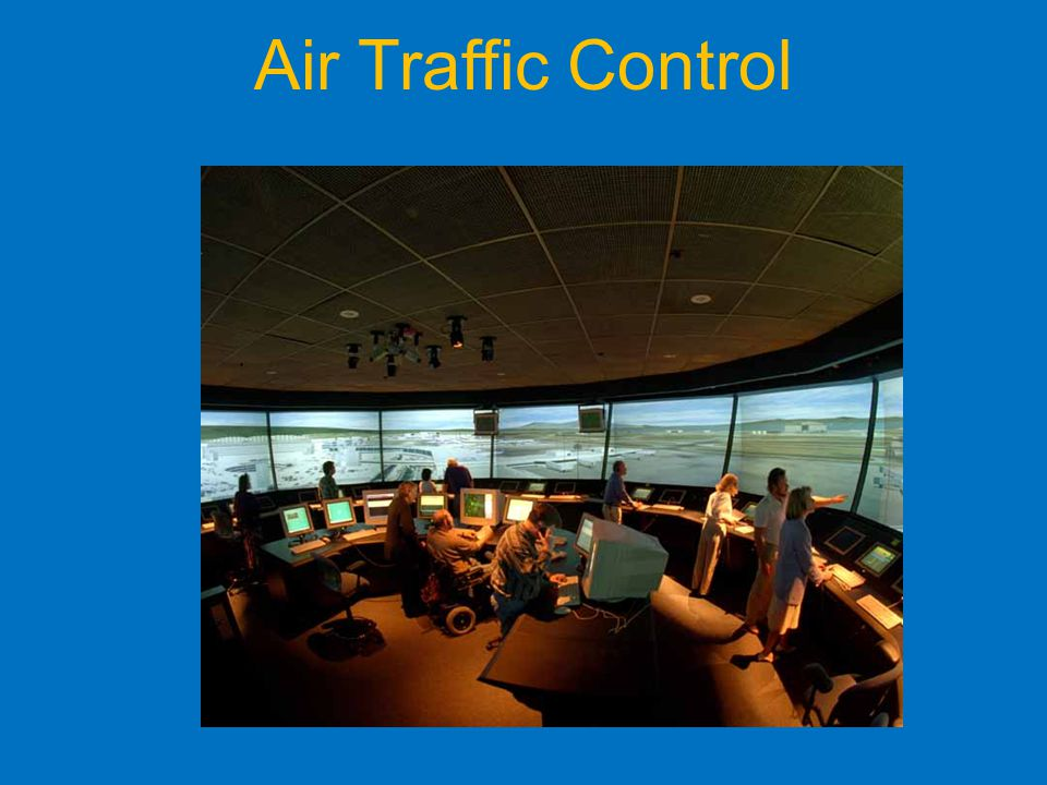 Air Traffic Control Local ATC controls all movements on the airfield.