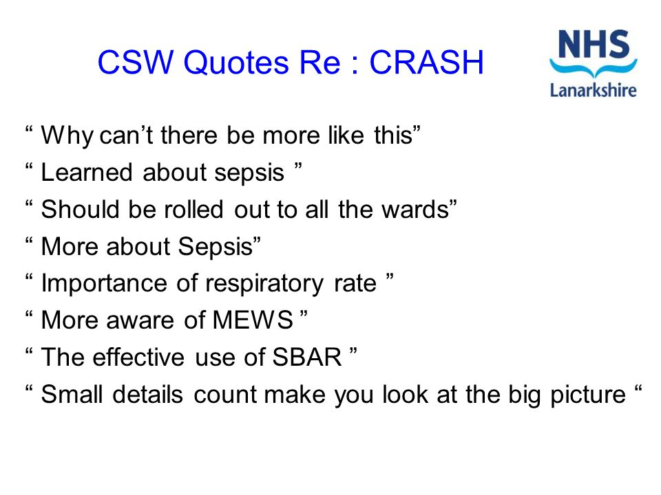 CSW Quotes Re : CRASH Why can't there be more like this