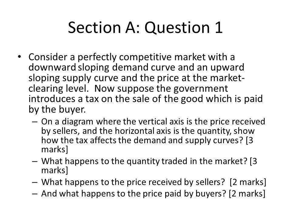 Section A: Question 1