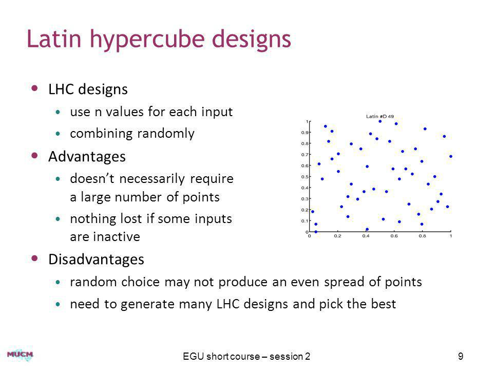 Latin hypercube designs
