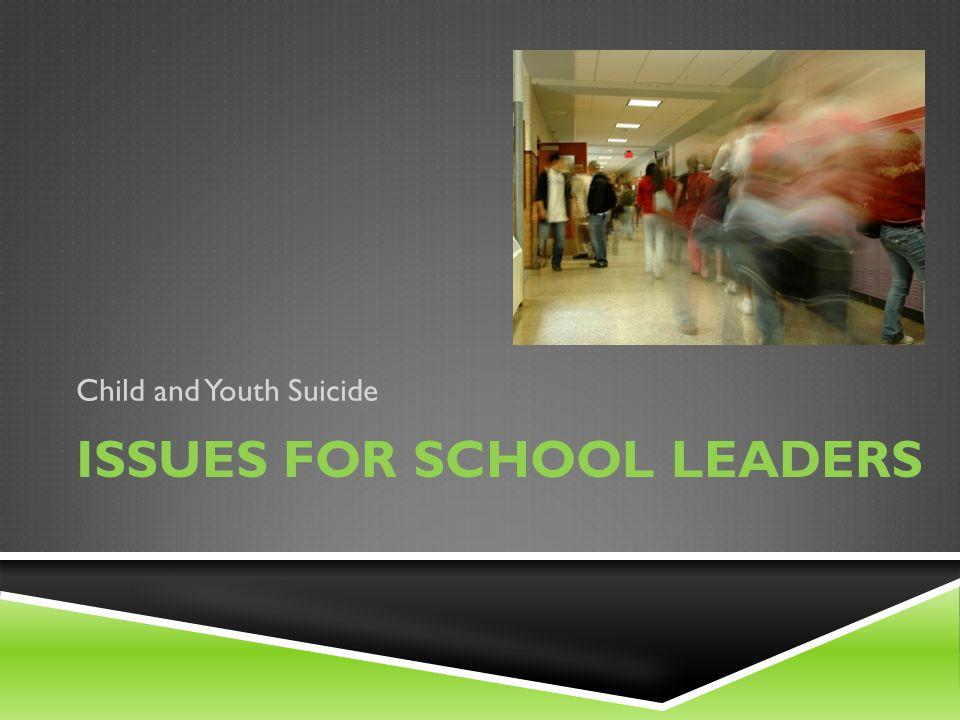 Issues for school leaders