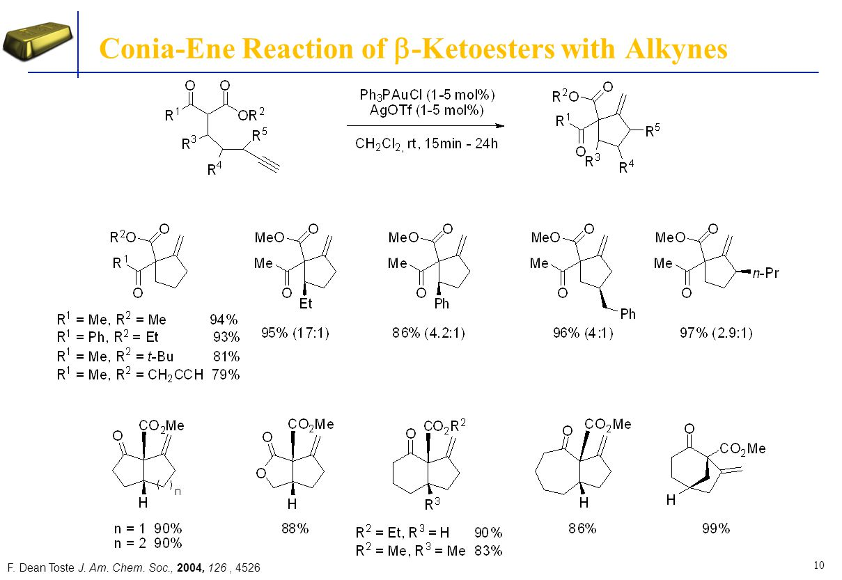 Conia-Ene Reaction of b-Ketoesters with Alkynes