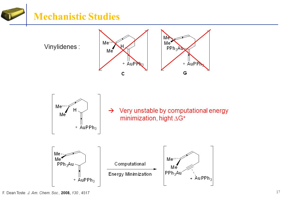 Mechanistic Studies Vinylidenes :