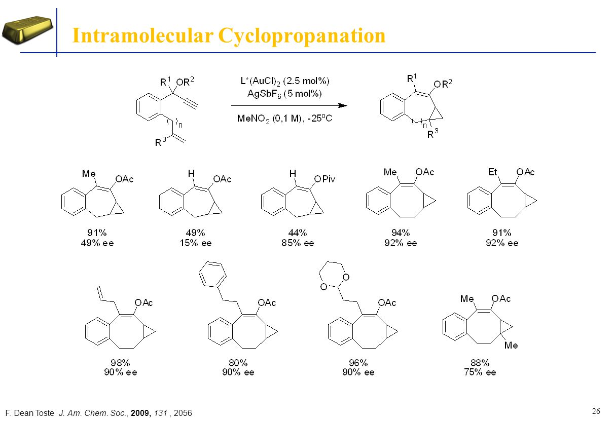 Intramolecular Cyclopropanation