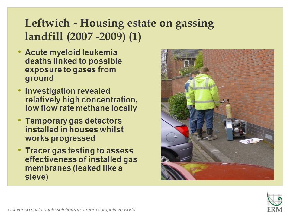 Leftwich - Housing estate on gassing landfill (2007 -2009) (1)
