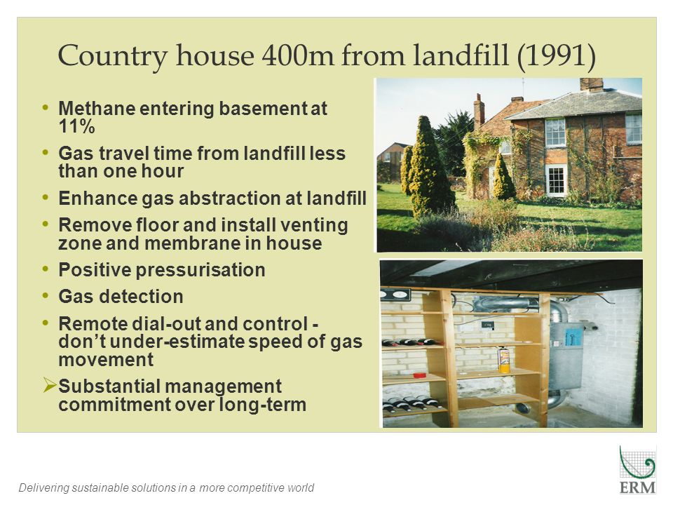 Country house 400m from landfill (1991)