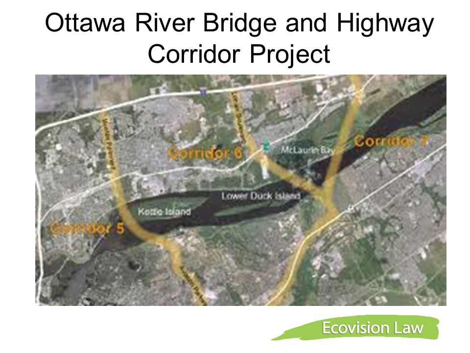 Ottawa River Bridge and Highway Corridor Project