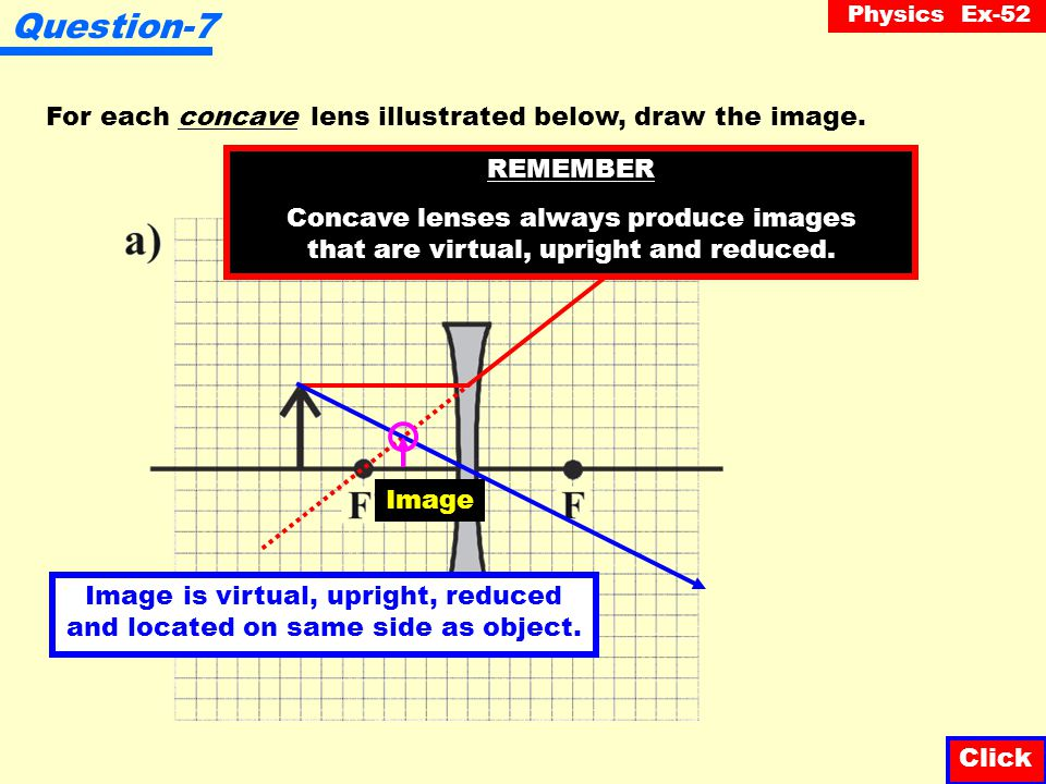 Image is virtual, upright, reduced and located on same side as object.
