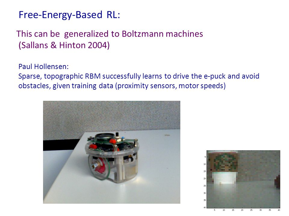 Free-Energy-Based RL: