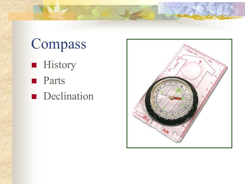 Compass History Parts Declination
