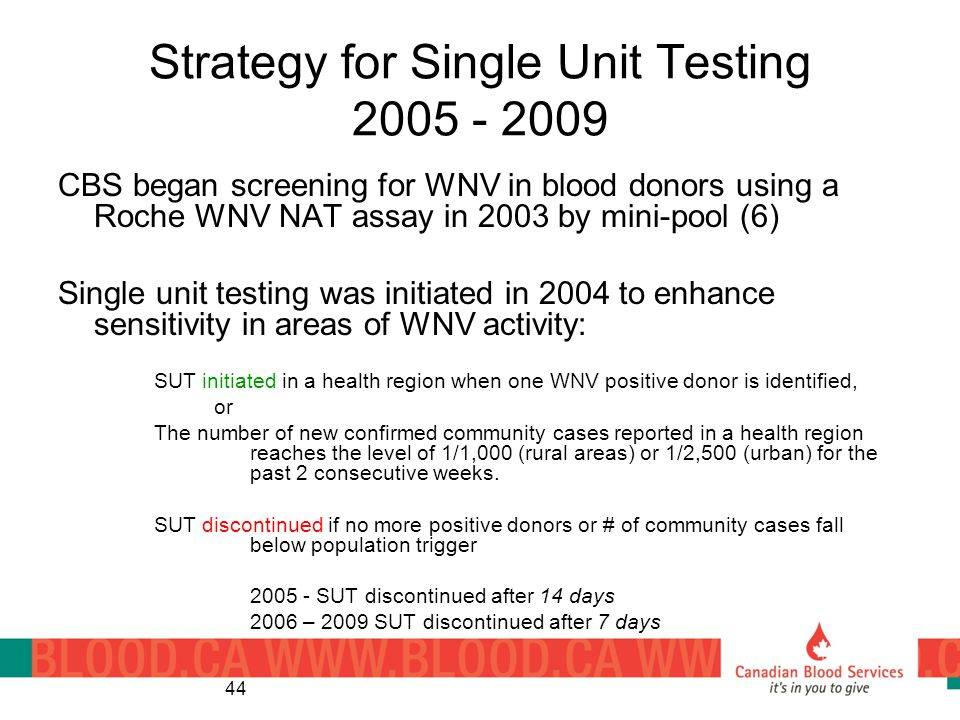 Strategy for Single Unit Testing 2005 - 2009