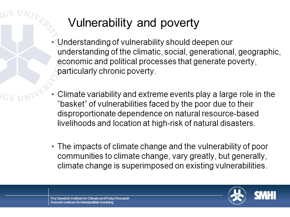 Vulnerability and poverty