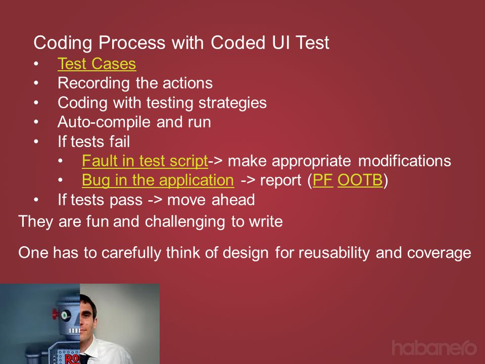 Coding Process with Coded UI Test