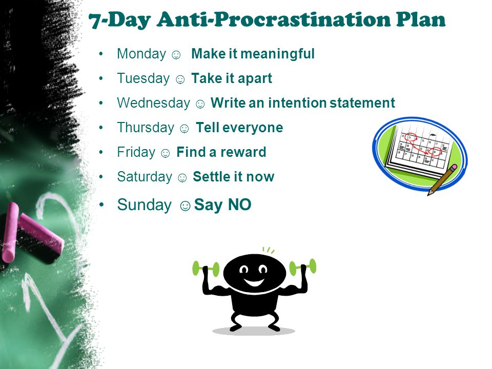 7-Day Anti-Procrastination Plan