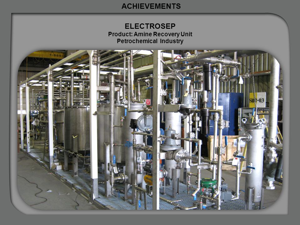 Product: Amine Recovery Unit Petrochemical Industry
