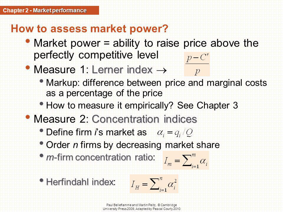 Chapter 2 - Market performance