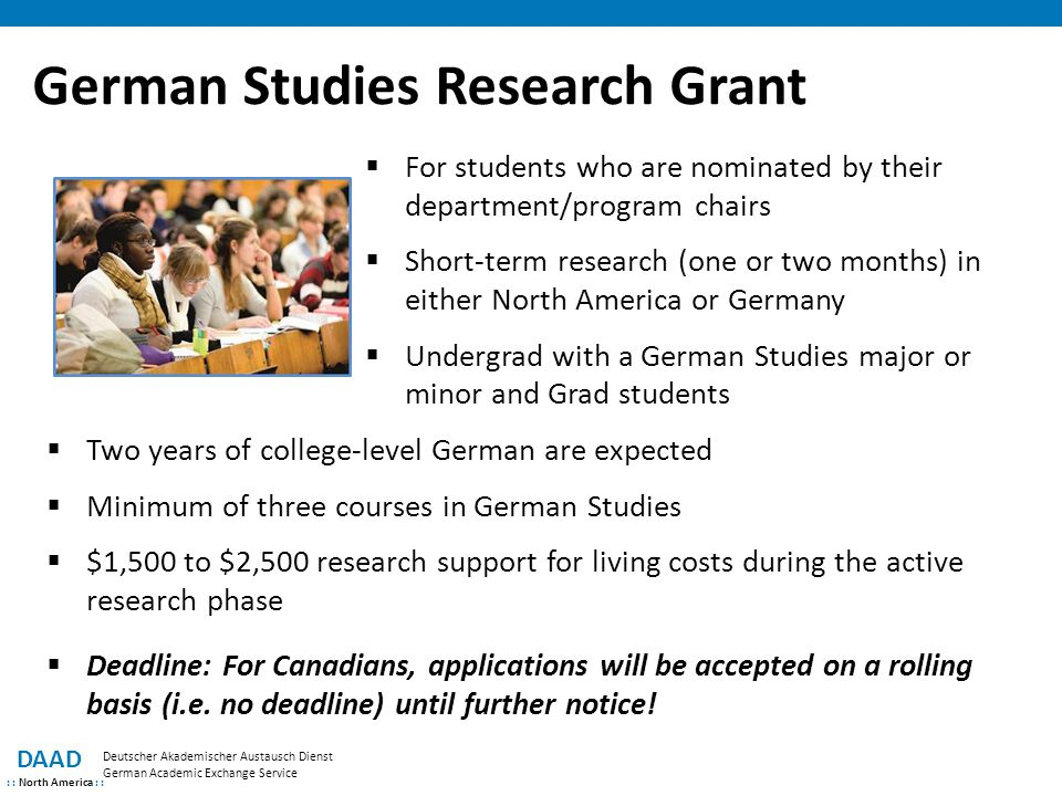 German Studies Research Grant