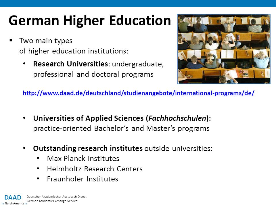 German Higher Education