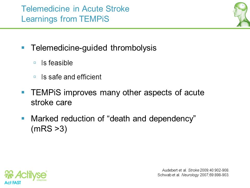 Telemedicine in Acute Stroke Learnings from TEMPiS