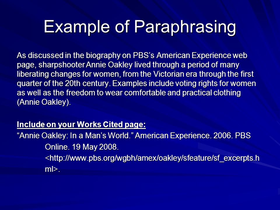 Quoting Paraphrasing And Summarizing Ppt Video Online Download