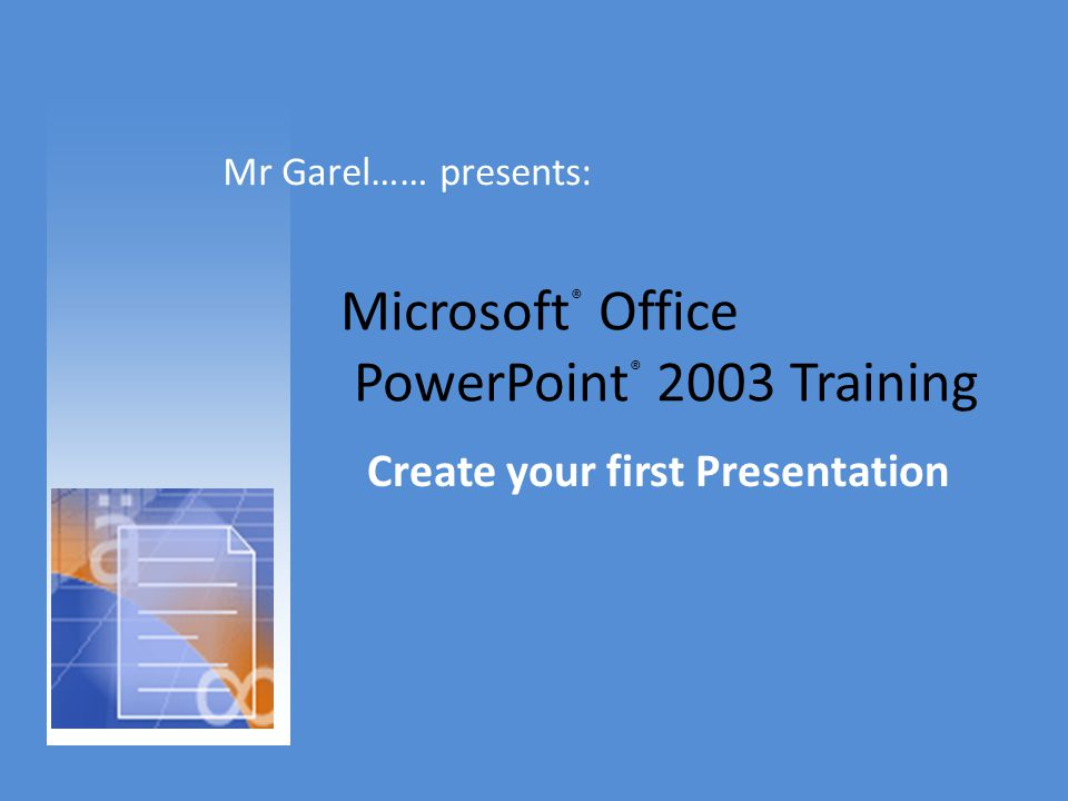 microsoft office powerpoint 2003 training ppt download