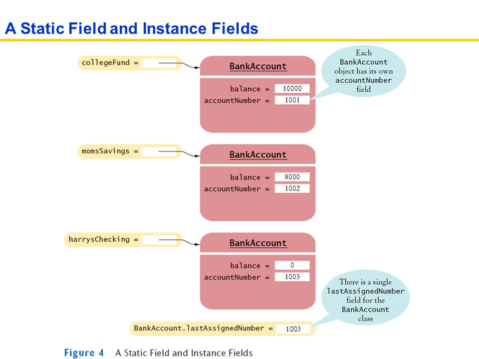 A Static Field and Instance Fields