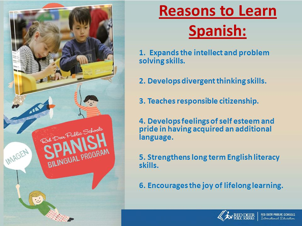 Reasons to Learn Spanish: