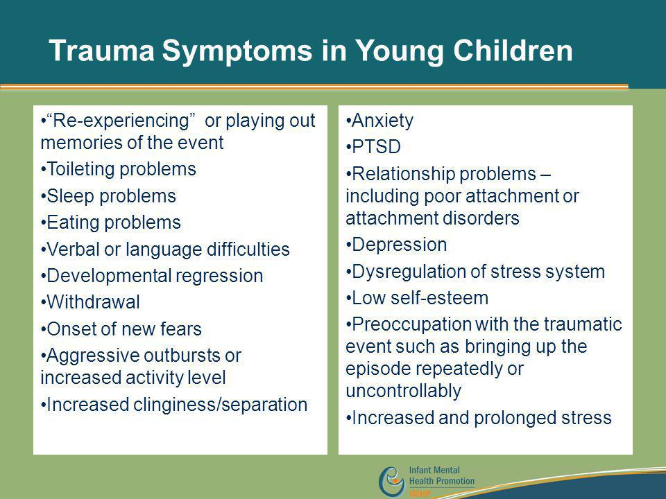 Trauma Symptoms in Young Children