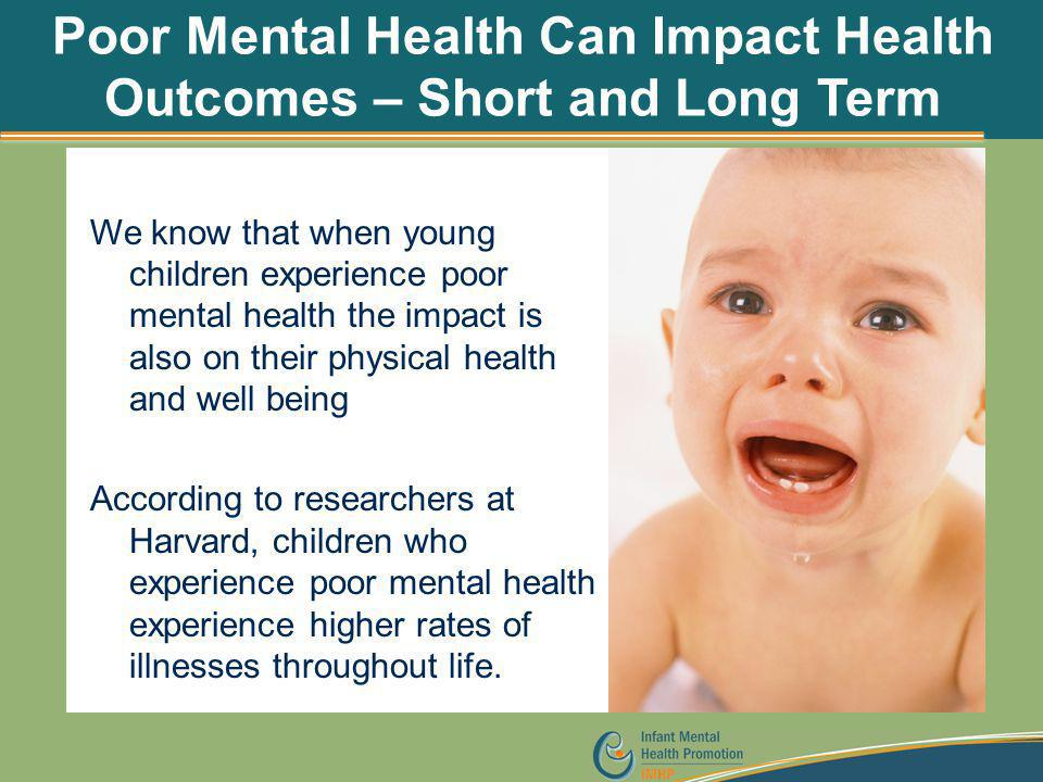 Poor Mental Health Can Impact Health Outcomes – Short and Long Term