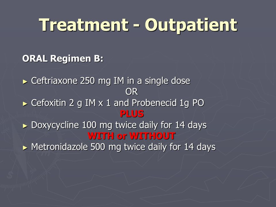 Treatment - Outpatient